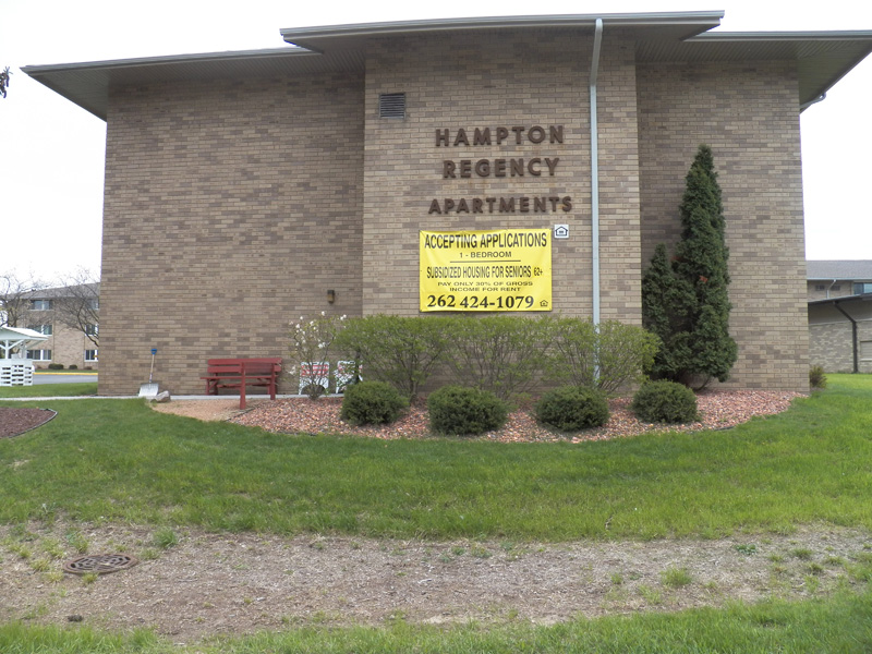 hampton regency reilly joseph offers low income apartments in